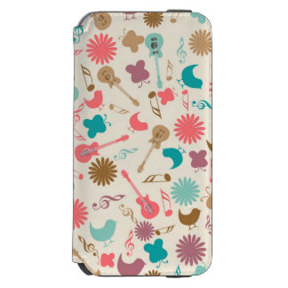 Music Guitars & Chicks Groovy Design Incipio Watson™ iPhone 6 Wallet Case