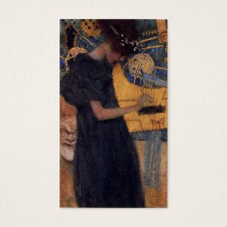 Music - Gustav Klimt Business Card