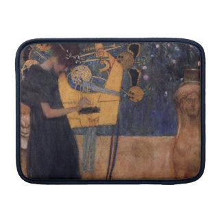 Music - Gustav Klimt MacBook Sleeve