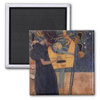 Music - Gustav Klimt Fridge Magnet