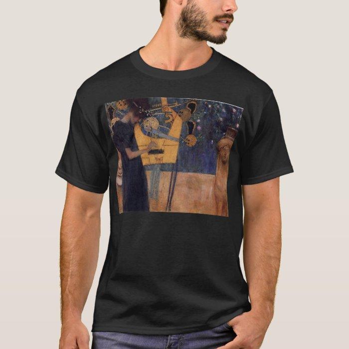 Music - Gustav Klimt T-Shirt