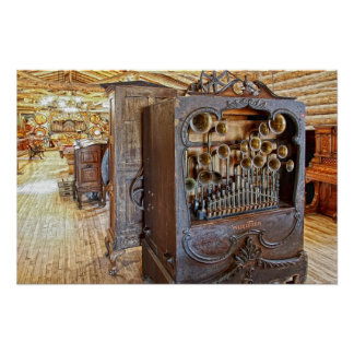 Music Hall - Nevada City Montana Ghost Town Poster