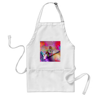 Music Happiness Adult Apron