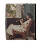 Music Hath Charms (oil on canvas) iPad Folio Case