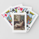 Music Hath Charms (oil on canvas) Bicycle Playing Cards