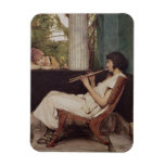 Music Hath Charms (oil on canvas) Rectangular Photo Magnet