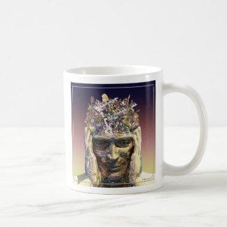 Music Head Classic White Coffee Mug