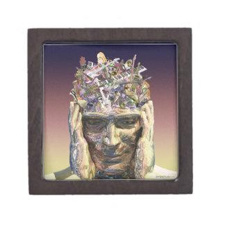 Music Head gift box Premium Trinket Boxes