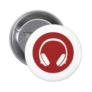 Music Headphones Buttons