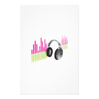 MUSIC HEADPHONES STATIONERY