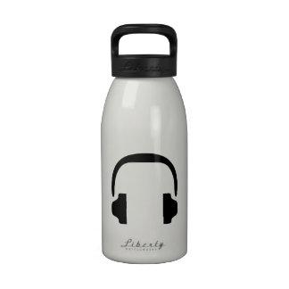 Music Headphones Water Bottles