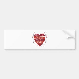 Music Healing Bumper Sticker