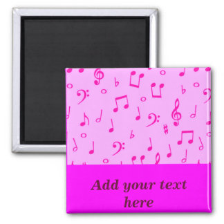 Music Heals_ 2 Inch Square Magnet