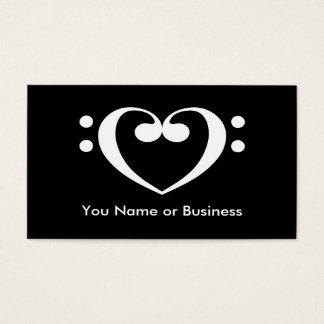 Music Heart Business Card