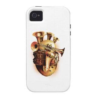 Music Heart iPhone 4 Case