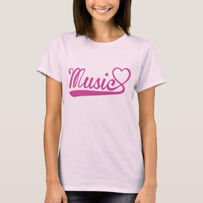 Music Heart T-Shirt