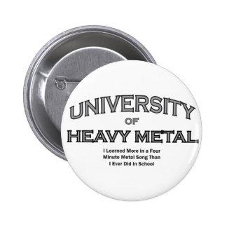 MUSIC-HEAVY METAL BUTTON