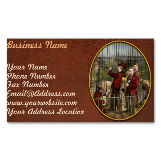 Music - How to annoy animals 1925 Business Card Magnet