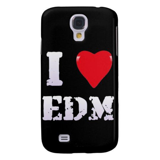 MUSIC - I HEART EDM - Galaxy S4 CasE