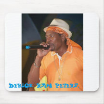Music icon Derrick rah peters. Mouse Pad