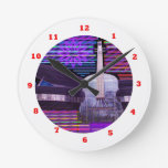 Music Idol Fans Competition : Guitar Piano Round Clock
