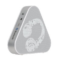 music image of a dj headphone bluetooth speaker