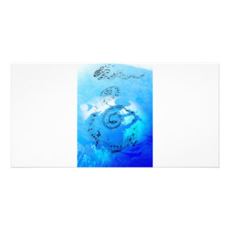 Music in Heaven Photo Card Template