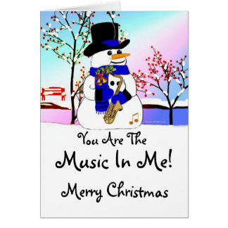 Music In Me Card