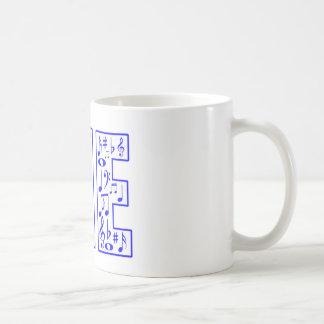 music in me coffee mug
