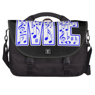 music in me laptop commuter bag