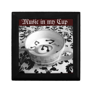 Music in my Cup Jewelry Box