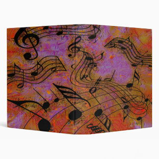 """MUSIC IN THE AIR 1"""" Ring Binder"""