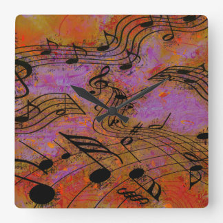MUSIC IN THE AIR Clock