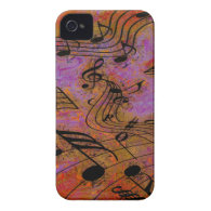 MUSIC IN THE AIR iPhone 4 Case-Mate Case