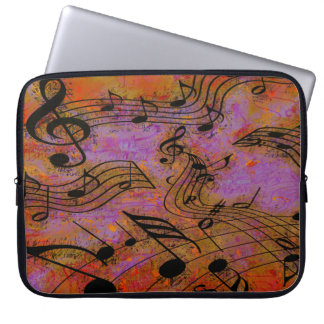 MUSIC IN THE AIR Laptop Sleeve