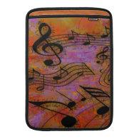 MUSIC IN THE AIR MacBook Sleeve