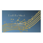 Music in the Air Seating Card Business Cards
