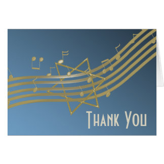 Music in the Air Thank You Note Cards