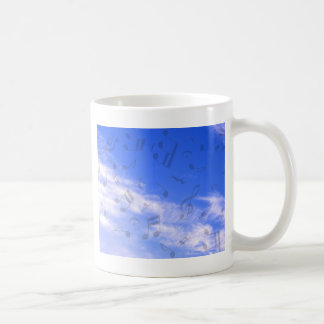 Music in the sky_ coffee mug