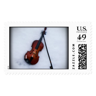 music in the snow stamps