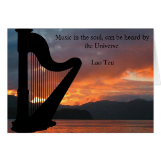 Music in the Soul Greeting Card