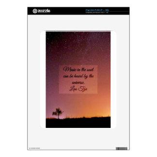 Music in the soul iPad skin