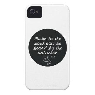 Music in the soul - Lao Tzu iPhone 4 Case-Mate Case