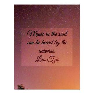 Music in the soul letterhead
