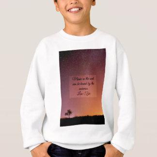 Music in the soul sweatshirt