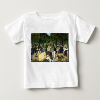 Music in the Tuileries by Edouard Manet Baby T-Shirt