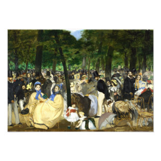 Music in the Tuileries by Edouard Manet Personalized Announcements