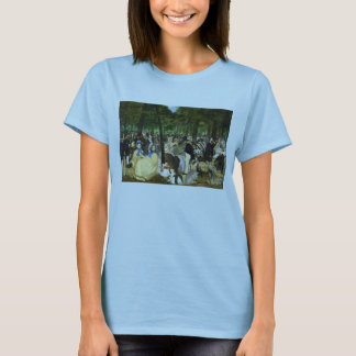 Music in the Tuileries by Edouard Manet T-Shirt