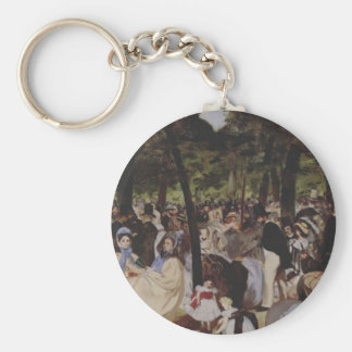 Music in the Tuileries Keychain