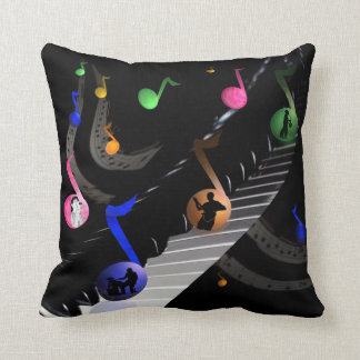 Music in the Universe Throw Pillow